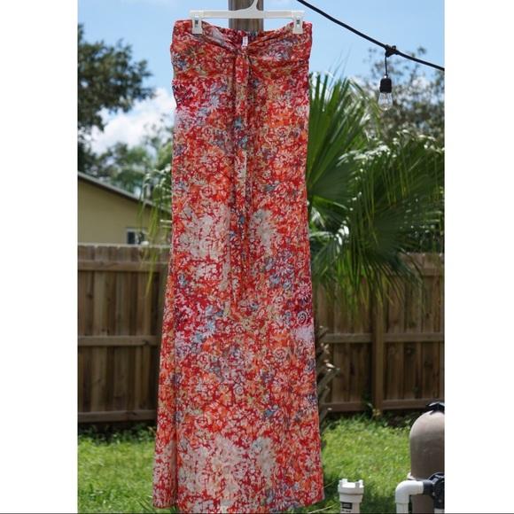 Xhilaration Dresses & Skirts - Xhilaration Floral Maxi Dress